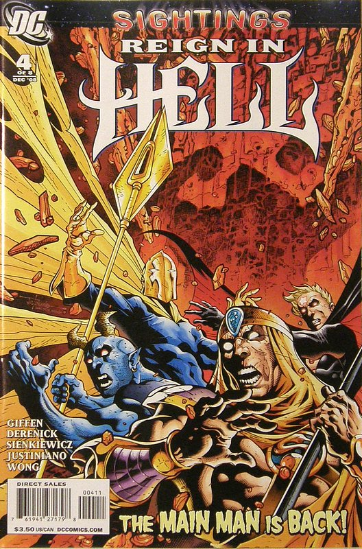 Cover of Reign in Hell (2008 Ltd) #4. One of 250,000 Vintage American Comics on sale from Krypton!