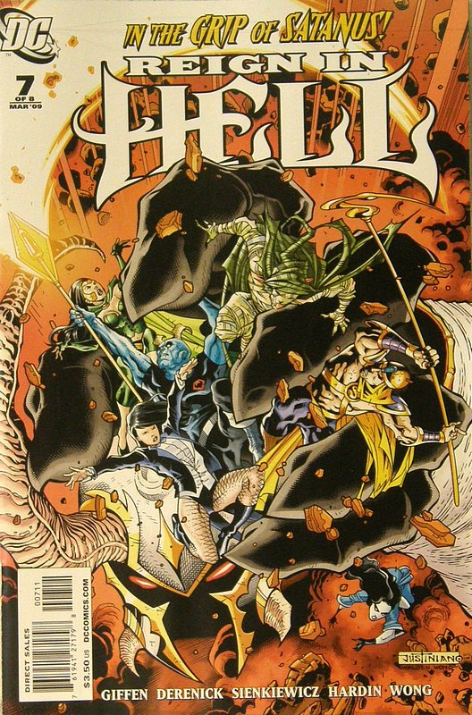 Cover of Reign in Hell (2008 Ltd) #7. One of 250,000 Vintage American Comics on sale from Krypton!