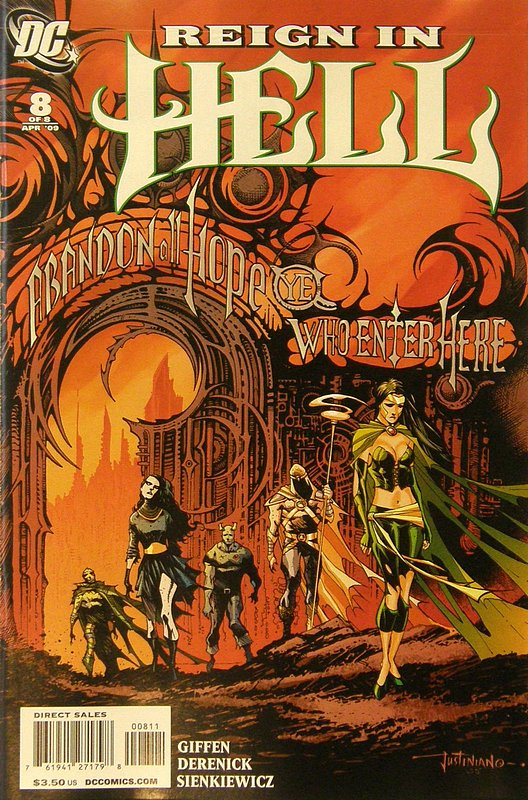 Cover of Reign in Hell (2008 Ltd) #8. One of 250,000 Vintage American Comics on sale from Krypton!