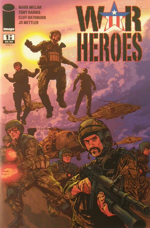 Cover of War Heroes (2008 Ltd) #1. One of 250,000 Vintage American Comics on sale from Krypton!