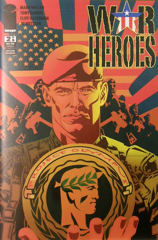 Cover of War Heroes (2008 Ltd) #2. One of 250,000 Vintage American Comics on sale from Krypton!