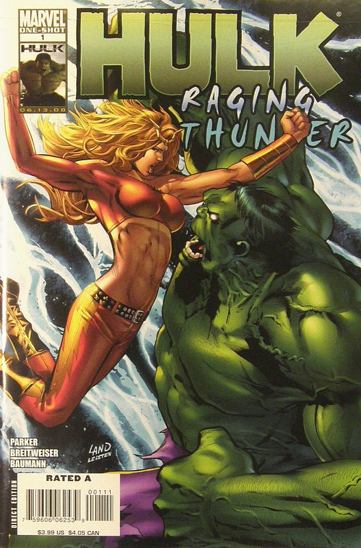 Cover of Hulk: Raging Thunder (2008 One shot) #1. One of 250,000 Vintage American Comics on sale from Krypton!