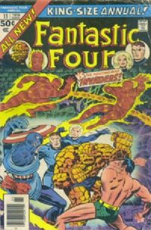 Cover of Fantastic Four Annual #11. One of 250,000 Vintage American Comics on sale from Krypton!