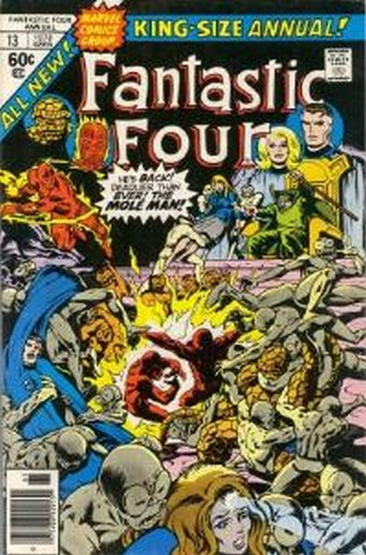 Cover of Fantastic Four Annual #13. One of 250,000 Vintage American Comics on sale from Krypton!