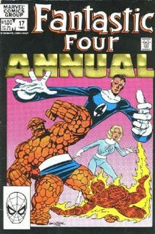 Cover of Fantastic Four Annual #17. One of 250,000 Vintage American Comics on sale from Krypton!