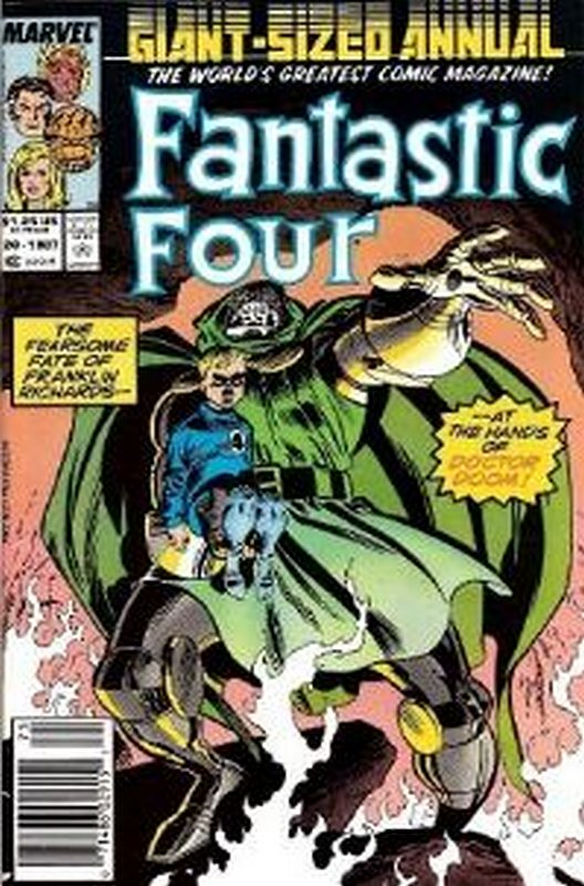 Cover of Fantastic Four Annual #20. One of 250,000 Vintage American Comics on sale from Krypton!