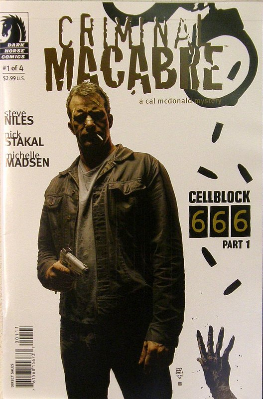 Cover of Criminal Macabre: Cell Block 666 (2008 Ltd) #1. One of 250,000 Vintage American Comics on sale from Krypton!