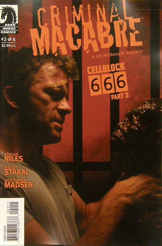Cover of Criminal Macabre: Cell Block 666 (2008 Ltd) #2. One of 250,000 Vintage American Comics on sale from Krypton!