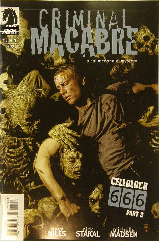 Cover of Criminal Macabre: Cell Block 666 (2008 Ltd) #3. One of 250,000 Vintage American Comics on sale from Krypton!