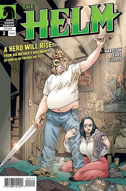 Cover of Helm (2008 Ltd) #2. One of 250,000 Vintage American Comics on sale from Krypton!