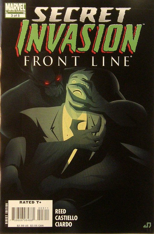 Cover of Secret Invasion: Frontline (2008 ltd) #3. One of 250,000 Vintage American Comics on sale from Krypton!