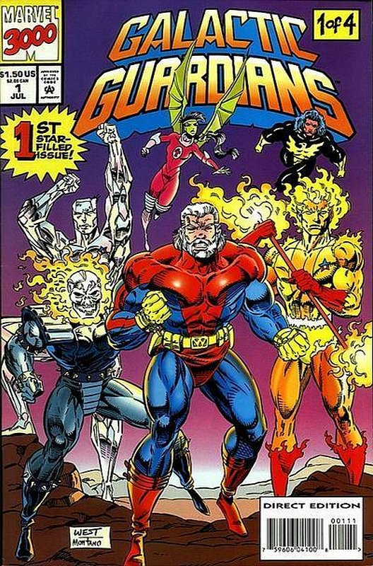 Cover of Galactic Guardians (1994 Ltd) #1. One of 250,000 Vintage American Comics on sale from Krypton!