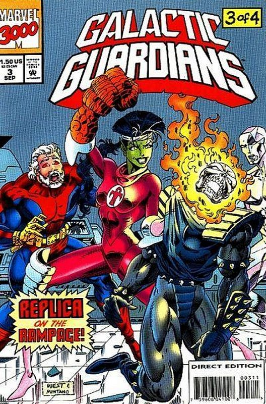 Cover of Galactic Guardians (1994 Ltd) #3. One of 250,000 Vintage American Comics on sale from Krypton!