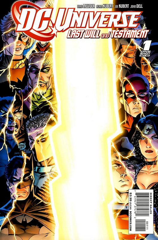 Cover of DC Universe: Last Will & Testament (2008 One Shot) #1. One of 250,000 Vintage American Comics on sale from Krypton!