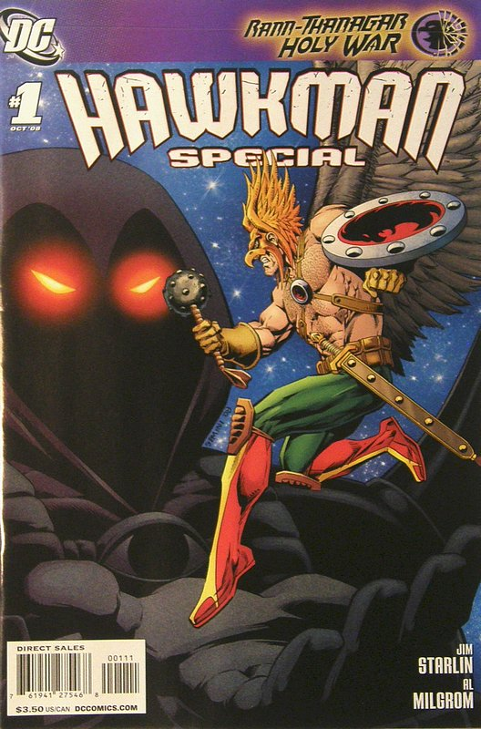 Cover of Hawkman Special (2008 One Shot) #1. One of 250,000 Vintage American Comics on sale from Krypton!