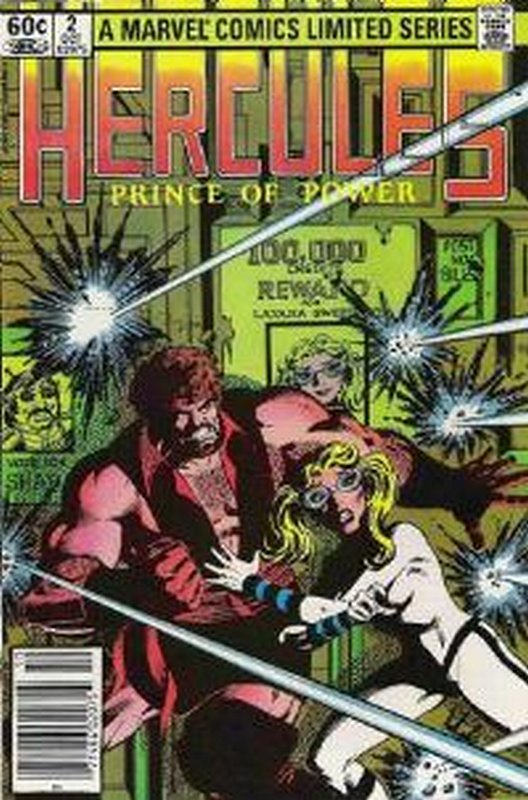 Cover of Hercules, Prince of Power (Vol 1) #2. One of 250,000 Vintage American Comics on sale from Krypton!