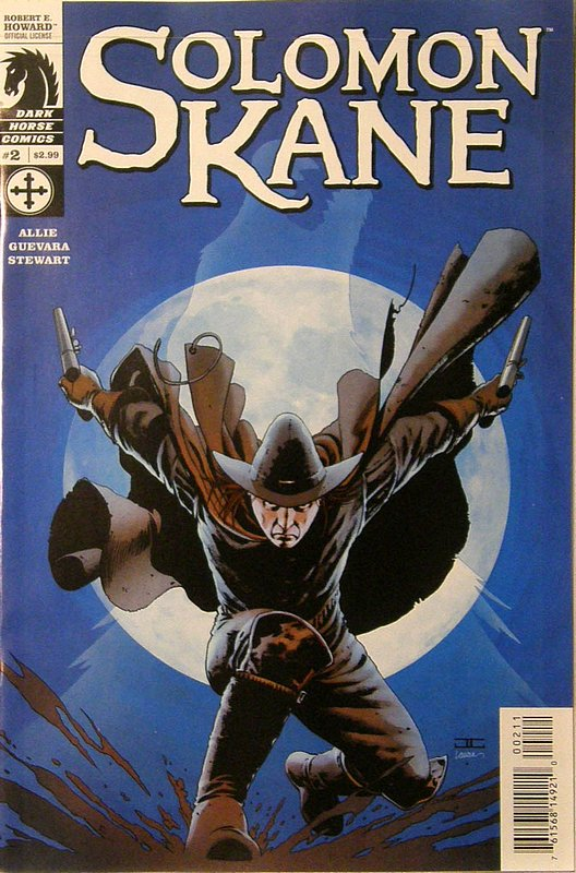 Cover of Solomon Kane (2008 Ltd) #2. One of 250,000 Vintage American Comics on sale from Krypton!