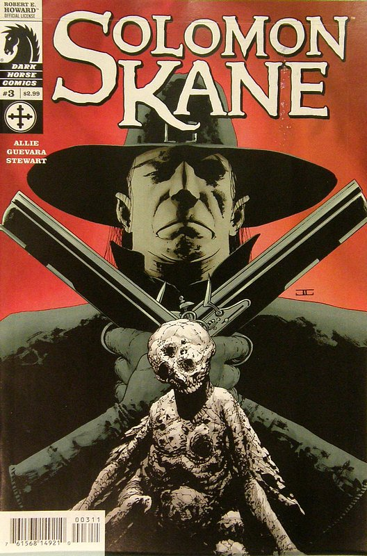 Cover of Solomon Kane (2008 Ltd) #3. One of 250,000 Vintage American Comics on sale from Krypton!