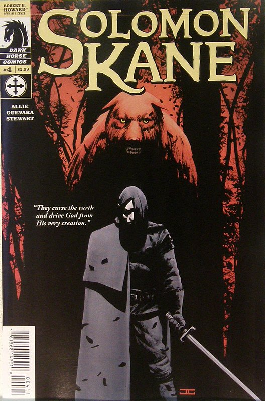 Cover of Solomon Kane (2008 Ltd) #4. One of 250,000 Vintage American Comics on sale from Krypton!