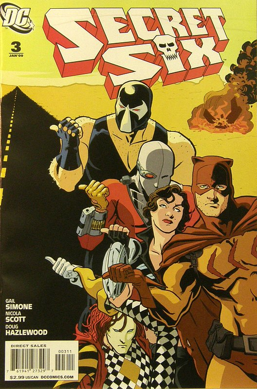 Cover of Secret Six (Vol 2) #3. One of 250,000 Vintage American Comics on sale from Krypton!
