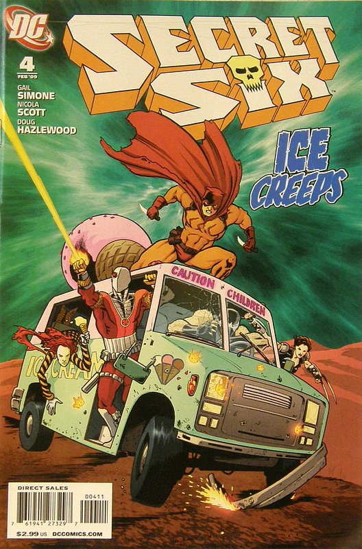 Cover of Secret Six (Vol 2) #4. One of 250,000 Vintage American Comics on sale from Krypton!