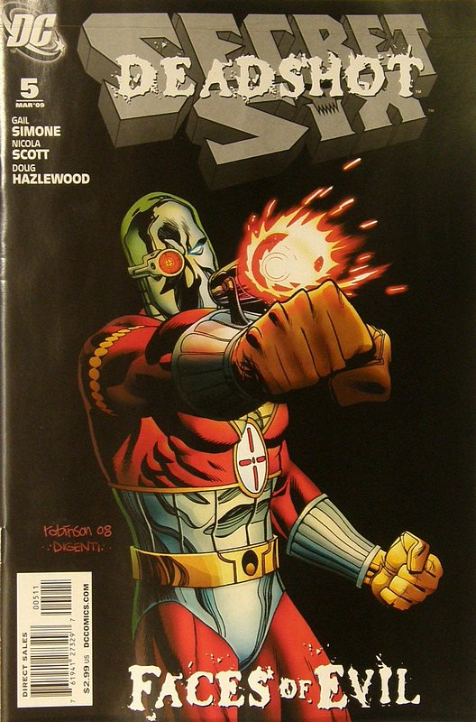 Cover of Secret Six (Vol 2) #5. One of 250,000 Vintage American Comics on sale from Krypton!