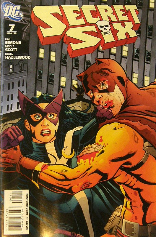 Cover of Secret Six (Vol 2) #7. One of 250,000 Vintage American Comics on sale from Krypton!