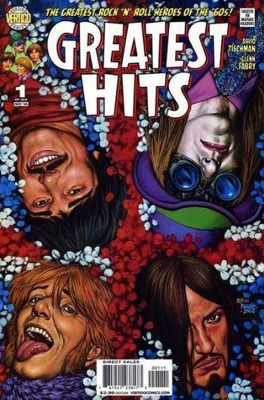Cover of Greatest Hits (2008 Ltd) #1. One of 250,000 Vintage American Comics on sale from Krypton!