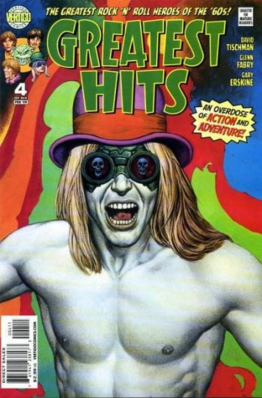 Cover of Greatest Hits (2008 Ltd) #4. One of 250,000 Vintage American Comics on sale from Krypton!