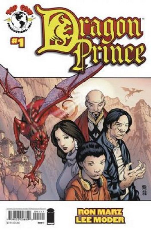 Cover of Dragon Prince (2008 Ltd) #1. One of 250,000 Vintage American Comics on sale from Krypton!