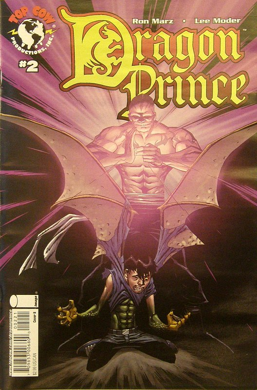 Cover of Dragon Prince (2008 Ltd) #2. One of 250,000 Vintage American Comics on sale from Krypton!