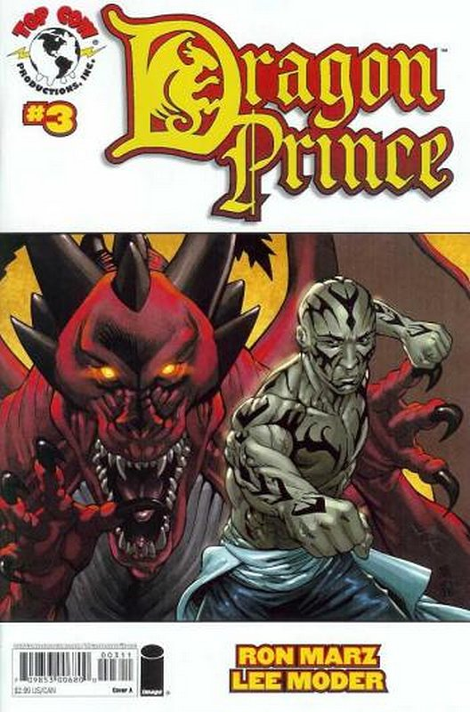 Cover of Dragon Prince (2008 Ltd) #3. One of 250,000 Vintage American Comics on sale from Krypton!