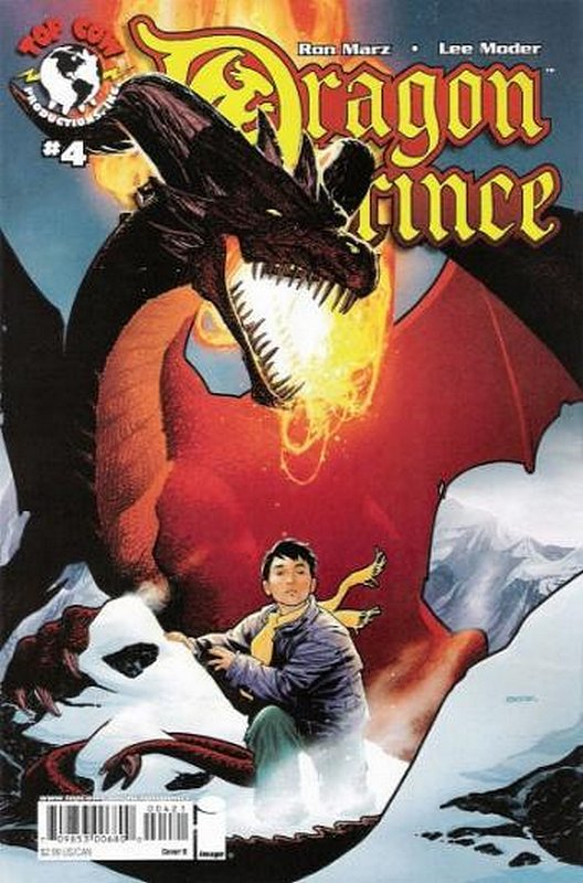 Cover of Dragon Prince (2008 Ltd) #4. One of 250,000 Vintage American Comics on sale from Krypton!