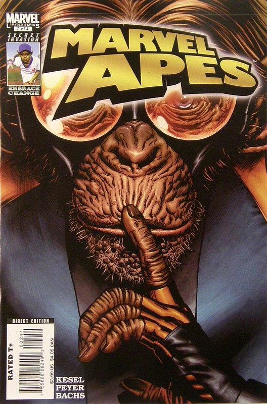 Cover of Marvel Apes (2008 Ltd) #2. One of 250,000 Vintage American Comics on sale from Krypton!