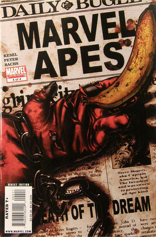 Cover of Marvel Apes (2008 Ltd) #4. One of 250,000 Vintage American Comics on sale from Krypton!