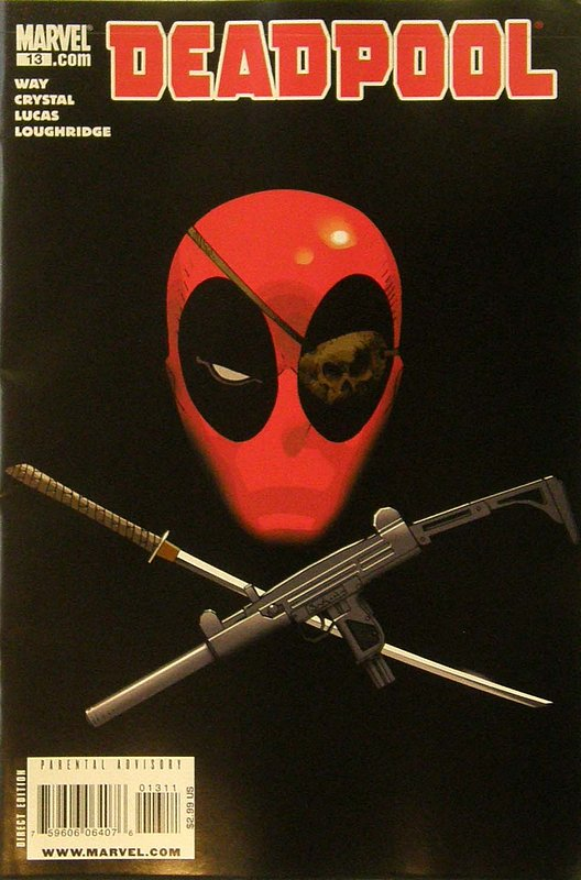 Cover of Deadpool (Vol 2) #13. One of 250,000 Vintage American Comics on sale from Krypton!