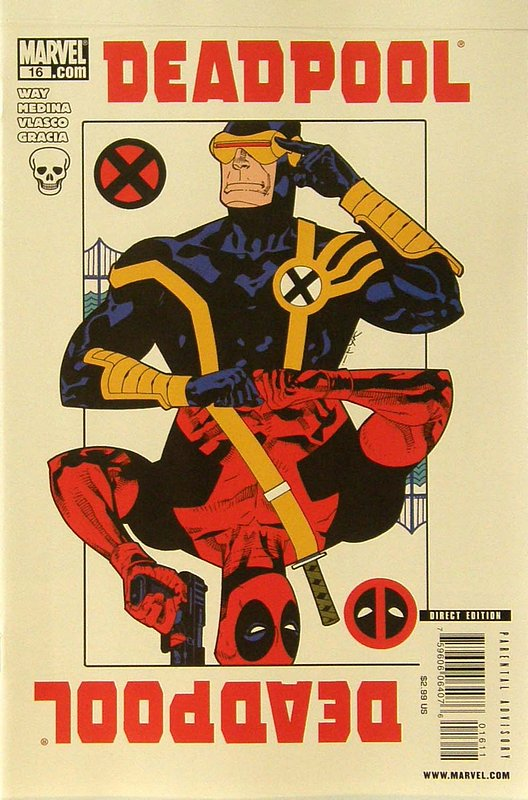 Cover of Deadpool (Vol 2) #16. One of 250,000 Vintage American Comics on sale from Krypton!