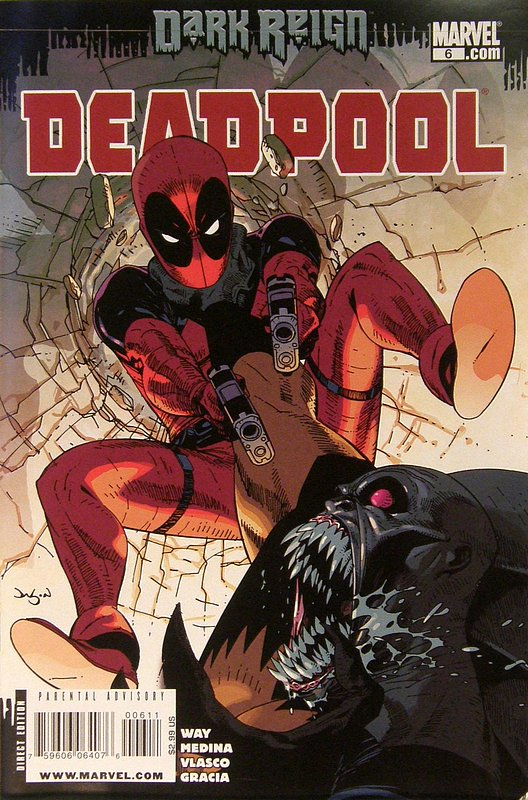 Cover of Deadpool (Vol 2) #6. One of 250,000 Vintage American Comics on sale from Krypton!