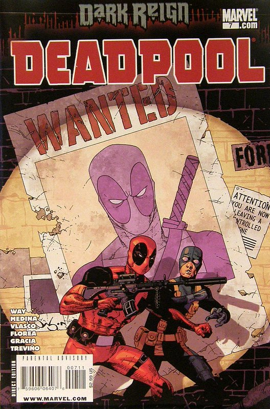 Cover of Deadpool (Vol 2) #7. One of 250,000 Vintage American Comics on sale from Krypton!