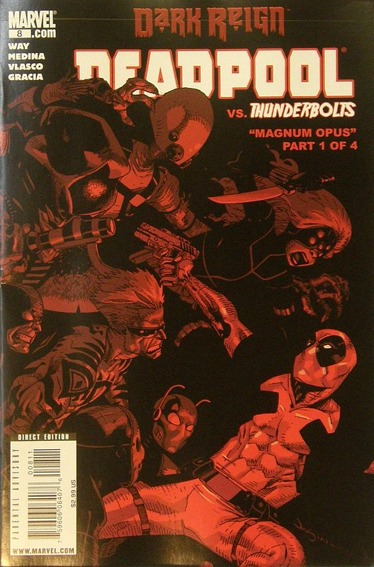 Cover of Deadpool (Vol 2) #8. One of 250,000 Vintage American Comics on sale from Krypton!