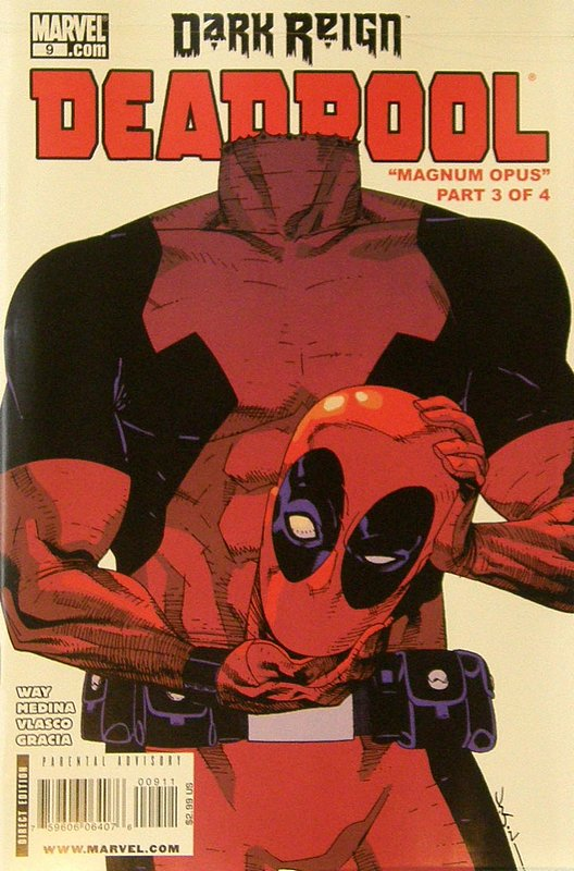 Cover of Deadpool (Vol 2) #9. One of 250,000 Vintage American Comics on sale from Krypton!