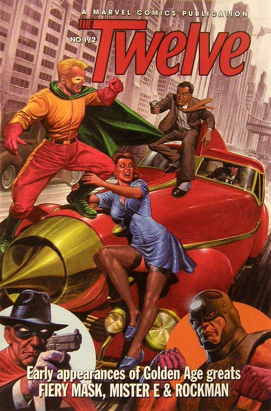 Cover of Twelve Half (2008 One Shot) #1. One of 250,000 Vintage American Comics on sale from Krypton!