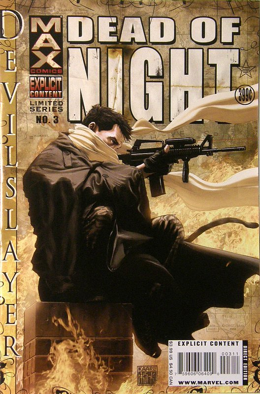 Cover of Dead of Night: Devil Slayer (2008 Ltd) #3. One of 250,000 Vintage American Comics on sale from Krypton!
