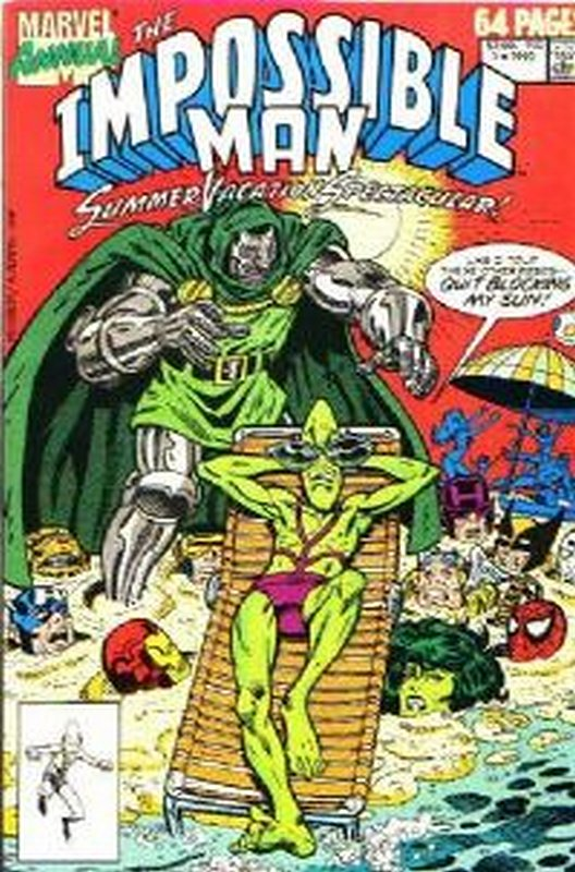Cover of Impossible Man Summer Vacation Special (Vol 1) #1. One of 250,000 Vintage American Comics on sale from Krypton!