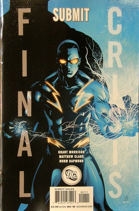 Cover of Final Crisis: Submit (2008 One Shot) #1. One of 250,000 Vintage American Comics on sale from Krypton!