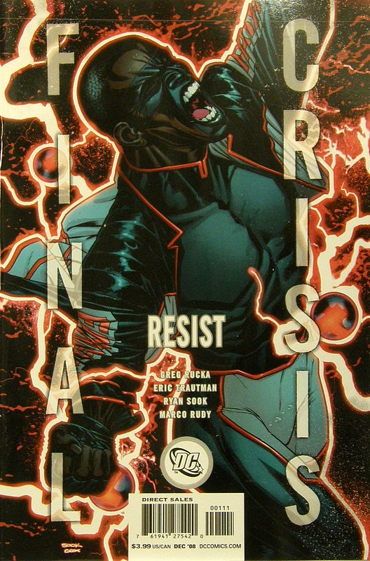 Cover of Final Crisis: Resist (2008 One Shot) #1. One of 250,000 Vintage American Comics on sale from Krypton!