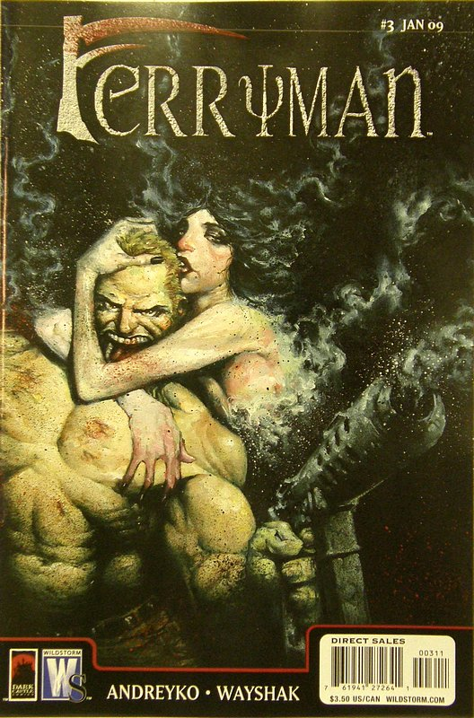 Cover of Ferryman (2008 Ltd) The #3. One of 250,000 Vintage American Comics on sale from Krypton!