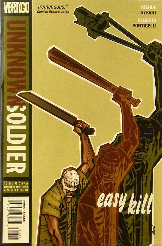 Cover of Unknown Soldier (Vol 2) #10. One of 250,000 Vintage American Comics on sale from Krypton!