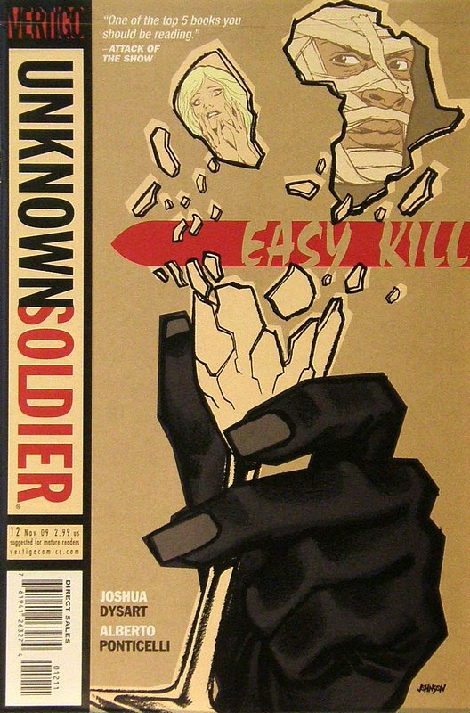 Cover of Unknown Soldier (Vol 2) #12. One of 250,000 Vintage American Comics on sale from Krypton!