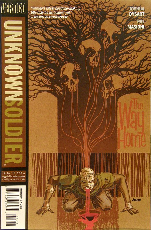Cover of Unknown Soldier (Vol 2) #14. One of 250,000 Vintage American Comics on sale from Krypton!